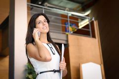 Professional woman indoor Royalty Free Stock Photo
