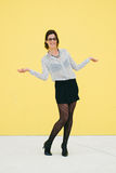 Professional woman job success Stock Images