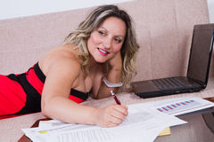 Professional woman Royalty Free Stock Photos