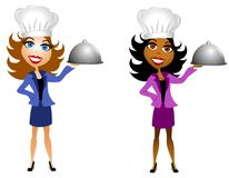 Professional Women Good Cooks Royalty Free Stock Images