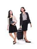 Professional women on their way to work Stock Images