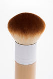 Professional  wooden make-up brush isolated on Stock Images