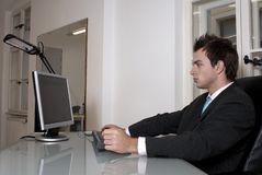 Professional at work Stock Photography