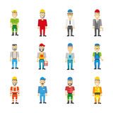 Professional workman set. Vector icons Stock Images
