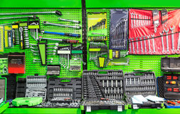 Professional workshop equipment, special tools Stock Photo