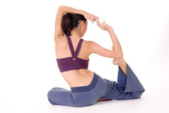 Professional yoga Royalty Free Stock Images