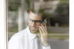 Professional young businessman portrait Stock Photography