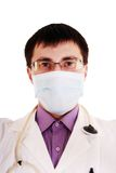 Professional young doctor. Royalty Free Stock Image