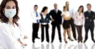 Professional young people stock image