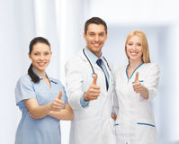 Professional young team or group of doctors Stock Photography
