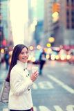 Professional young urban woman New York Royalty Free Stock Image