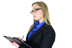 Professional young woman Stock Image