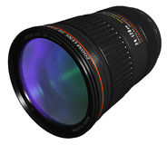 Professional zoom lens Stock Image