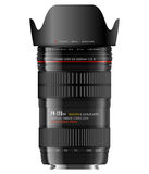 Professional zoom lens Stock Photos