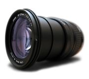 professional Zoom lens Royalty Free Stock Image
