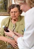 professione d'infermiera domestica Fotografie Stock
