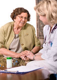 professione d'infermiera domestica Immagine Stock Libera da Diritti