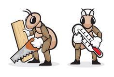 Professione 3 della formica Fotografia Stock