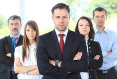 Professioneel commercieel team royalty-vrije stock afbeeldingen
