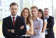 Professioneel commercieel team stock afbeelding