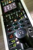Professioneel controlebord Stock Fotografie