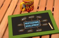 Professioneel de Tekeningsbord van de Ontwikkelingsgrafiek stock fotografie