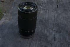 Professioneel fotografiemateriaal Professionele Fotograaf Work Kit Fotolenzen stock afbeelding