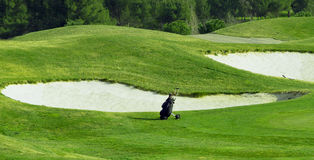 Professioneel golftoestel Royalty-vrije Stock Foto