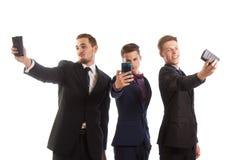 Professioneel grappige selfies Royalty-vrije Stock Fotografie