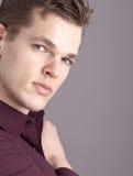 Professioneel mannelijk model Stock Foto's