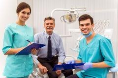 Professioneel tandartsbureau royalty-vrije stock foto