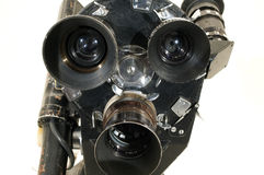 Professionele 35 mm de film-kamer. Stock Afbeelding