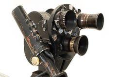 Professionele 35 mm de filmcamera. Stock Afbeelding