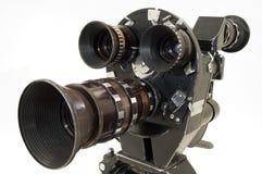 Professionele 35 mm de filmcamera. Stock Foto