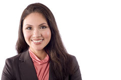 Professionele Aziatische vrouw Royalty-vrije Stock Foto's
