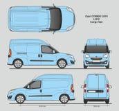 Professionele de Leveringsbestelwagen van Opel Combo 2016 L2H2 Stock Afbeelding