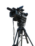 Professionele de studio digitale videocamera van TV Stock Afbeelding