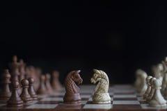 Professionele de voorraadfotografie van het schaakspel Royalty-vrije Stock Afbeelding