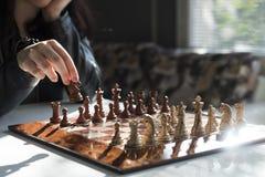 Professionele de voorraadfotografie van het schaakspel Royalty-vrije Stock Fotografie