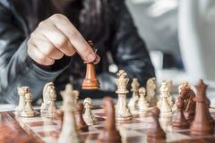 Professionele de voorraadfotografie van het schaakspel Stock Foto
