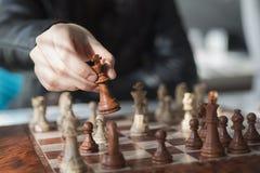 Professionele de voorraadfotografie van het schaakspel Royalty-vrije Stock Foto's