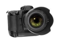 Professionele digitale Lens Stock Foto's