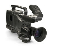 Professionele digitale videocamera. Stock Afbeelding