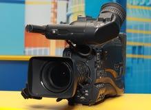 Professionele digitale videocamera Stock Foto's