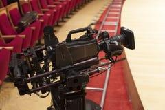 Professionele digitale videocamera Stock Foto