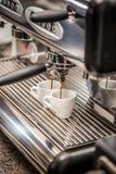 Professionele espressomachine Stock Fotografie