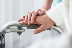 Professionele gezondheidszorg en steun stock foto's