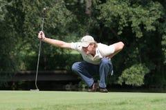 Professionele golfspeler Wil Besseling royalty-vrije stock foto