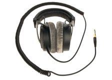 Professionele hoofdtelefoons Stock Foto's