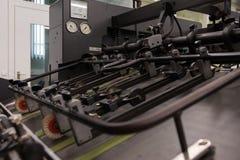 Professionele Industriële Printer Equipment Mechanism Machine Mech royalty-vrije illustratie